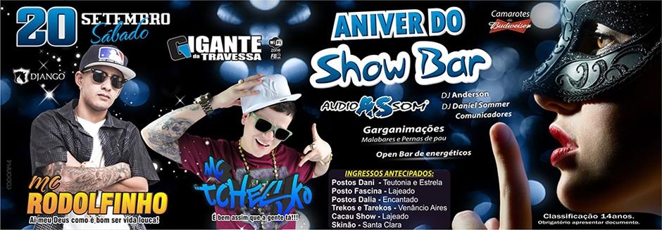 Aniver do Show Bar