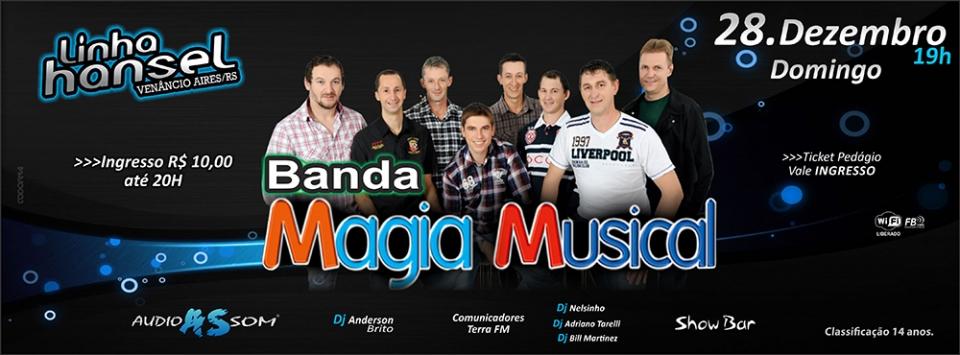 Linha Hansel com Banda Magia