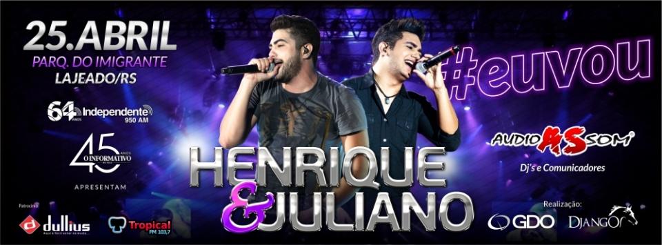 Show Nacional - Henrique e Juliano